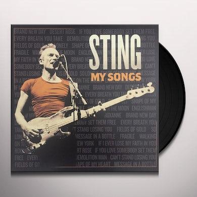 Sting MY SONGS Vinyl Record