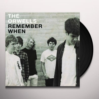 The Orwells REMEMBER WHEN Vinyl Record