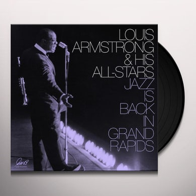 Louis Armstrong JAZZ IS BACK IN GRAND RAPIDS Vinyl Record