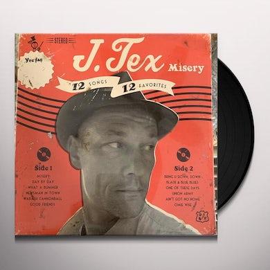 J. Tex MISERY Vinyl Record
