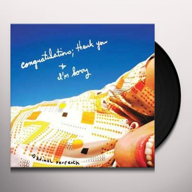 Animal Prufrock CONGRATULATIONS: THANK YOU & IM SORRY Vinyl Record