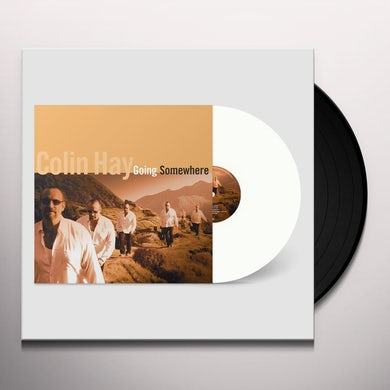 Colin Hay  Going Somewhere (White Vinyl) Vinyl Record