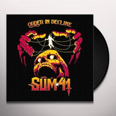 Sum 41   ORDER IN DECLINE Vinyl Record