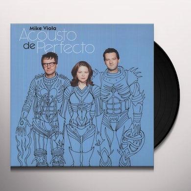 Mike Viola ACOUSTO DE PERFECTO Vinyl Record