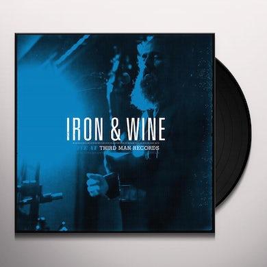 Iron & Wine LIVE AT THIRD MAN RECORDS Vinyl Record