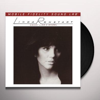 Linda Ronstadt HEART LIKE A WHEEL Vinyl Record