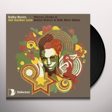 Kathy Brown GET ANOTHER LOVE Vinyl Record - UK Release
