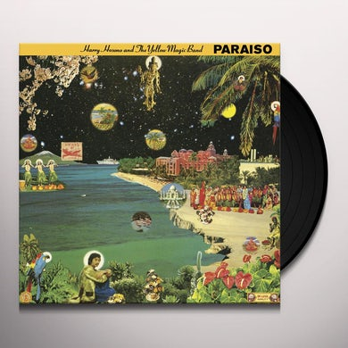 Haruomi Hosono PARAISO Vinyl Record - Gatefold Sleeve, Limited Edition, Reissue