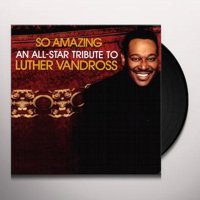 SO AMAZING: ALL STAR TRIBUTE LUTHER VANDROSS / VAR (Vinyl)