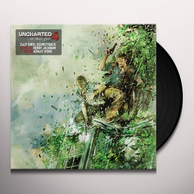 Henry Jackman UNCHARTED 4 / Original Soundtrack Vinyl Record