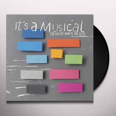 It'S A Musical MUSIC MAKES ME SICK / LAZY Vinyl Record