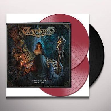 Elvenking READER OF THE RULES-DIVINATION (RED VINYL) Vinyl Record