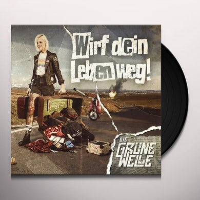 Die Grune Welle WIRF DEIN LEBEN WEG Vinyl Record