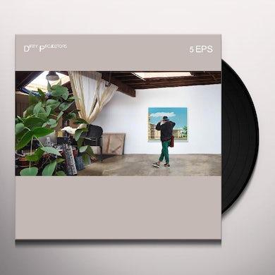 Dirty Projectors 5 Eps Vinyl Record
