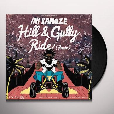 Ini Kamoze HILL & GULLY RIDE REMIX Vinyl Record