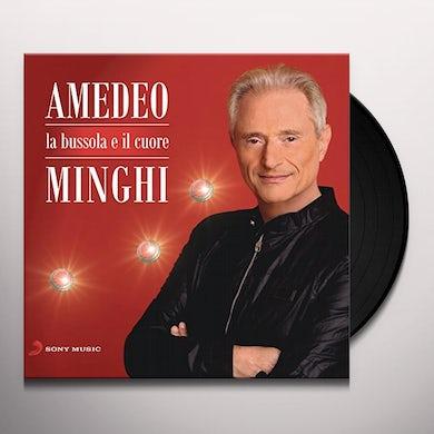 Amedeo Minghi LA BUSSOLA E IL CUORE Vinyl Record