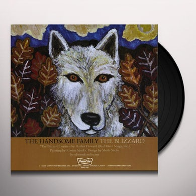 The Handsome Family DRUNK BY NOON / BLIZZARD Vinyl Record