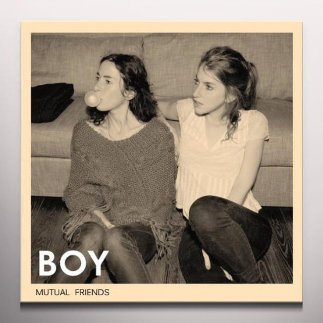 Boy MUTUAL FRIENDS Vinyl Record - Limited Edition, Colored Vinyl