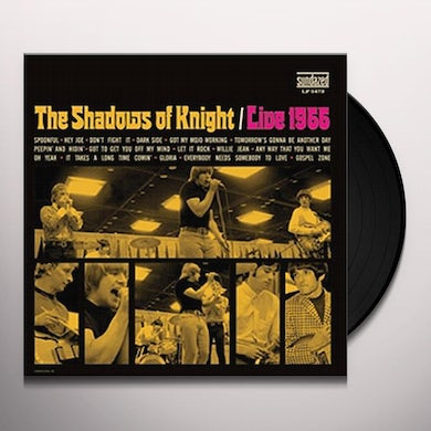 The Shadows Of Knight LIVE 1966 Vinyl Record