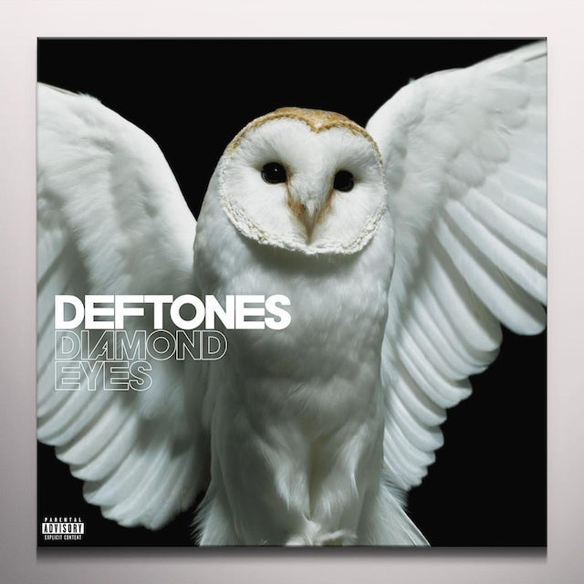 Deftones DIAMOND EYES - White Colored Vinyl Record