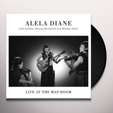 Alela Diane LIVE AT THE MAP ROOM Vinyl Record