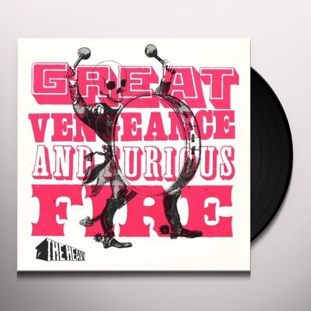 The Heavy GREAT VENGEANCE & FURIOUS FIRE Vinyl Record