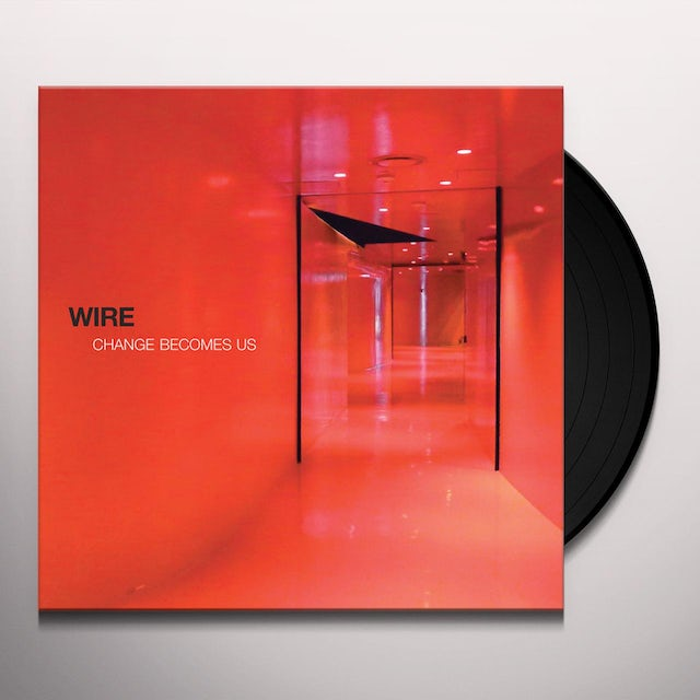 Wire CHANGE BECOME US Vinyl Record