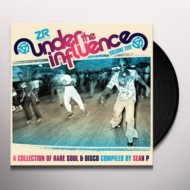 Sean P UNDER THE INFLUENCE 5: COLLECTION OF RARE SOUL Vinyl Record
