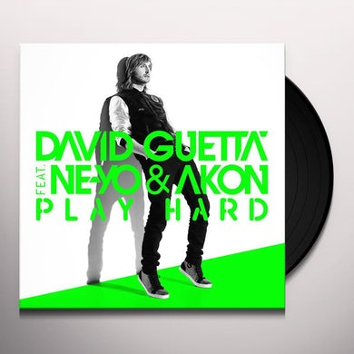 David Guetta PLAY HARD: REMIXES Vinyl Record