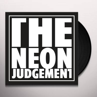 The Neon Judgement TV TREATED (DAVE CLARKE REMIX/RADIO EDIT) Vinyl Record