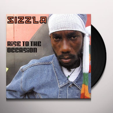 Sizzla RISE TO THE OCCASION Vinyl Record