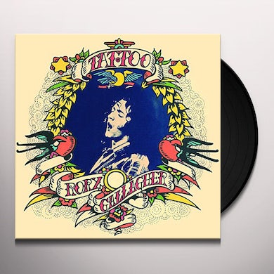 Rory Gallagher TATTOO Vinyl Record