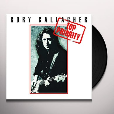 Rory Gallagher TOP PRIORITY Vinyl Record