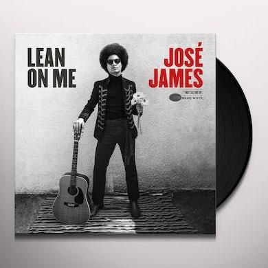 José James LEAN ON ME Vinyl Record