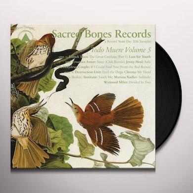 TODO MUERE VOL 5 / VARIOUS Vinyl Record
