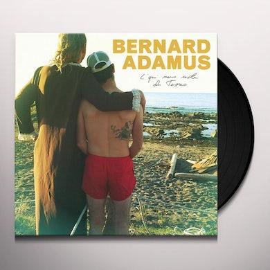 Bernard Adamus C'QUI NOUS RESTE DU TEXAS Vinyl Record