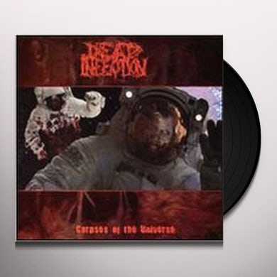 Dead Infection CORPSES OF THE UNIVERSE Vinyl Record