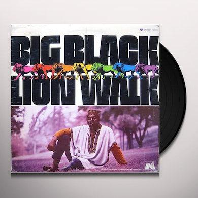Big Black LION WALK Vinyl Record