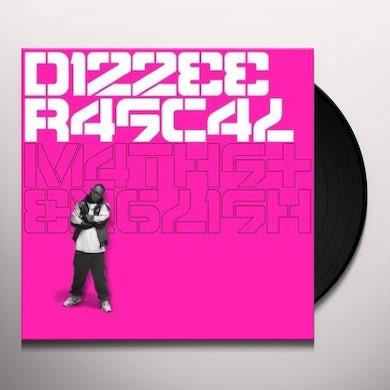Dizzee Rascal MATHS & ENGLISH (UK) (Vinyl)