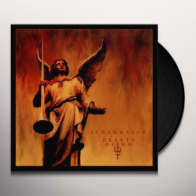 Schammasch HEARTS OF NO LIGHT Vinyl Record