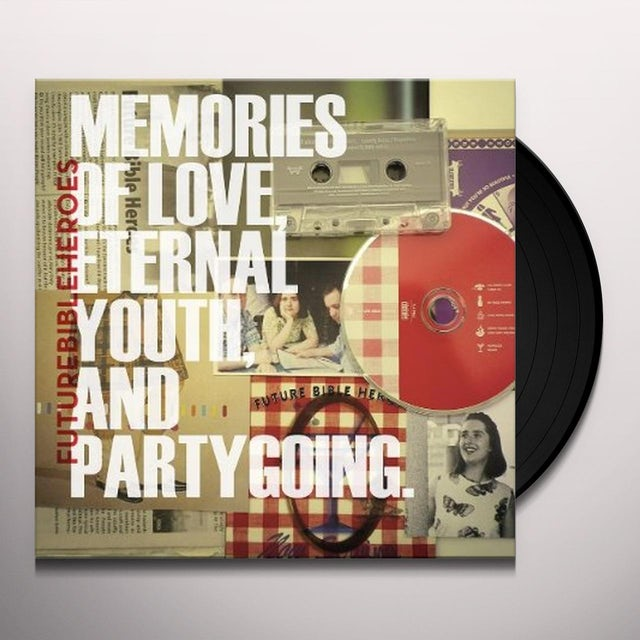 Future Bible Heroes MEMORIES OF LOVE ETERNAL YOUTH & PARTYGOING Vinyl Record