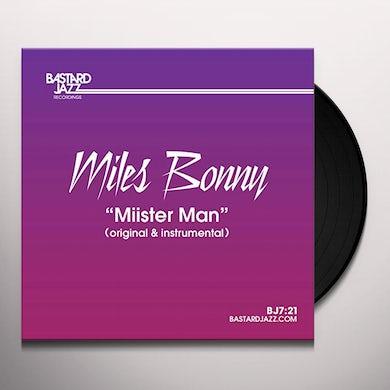 Miles Bonny MIISTER MAN Vinyl Record