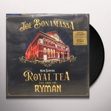 Joe Bonamassa NOW SERVING: ROYAL TEA: LIVE FROM THE RYMAN Vinyl Record