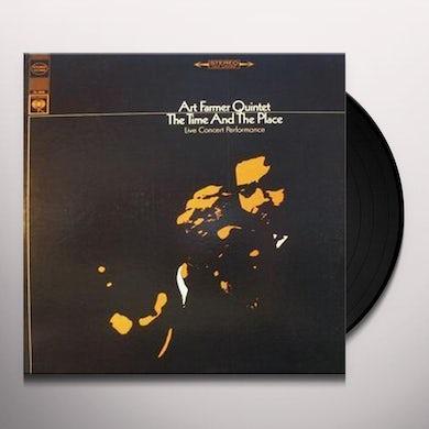 Art Farmer TIME & THE PLACE Vinyl Record