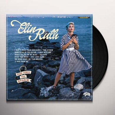 Elin Ruth HERE COMES THE STORM Vinyl Record