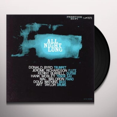 Prestige All Stars ALL NIGHT LONG Vinyl Record