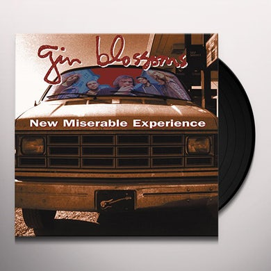 Gin Blossoms NEW MISERABLE EXPERIENCE Vinyl Record
