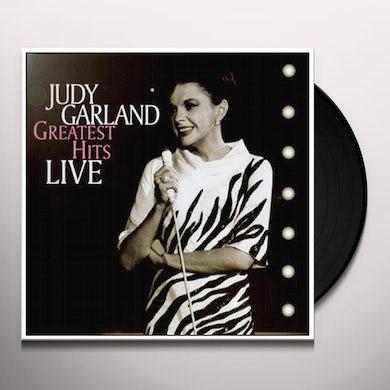 Judy Garland GREATEST HITS LIVE Vinyl Record