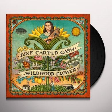 June Carter Cash WILDWOOD FLOWER Vinyl Record