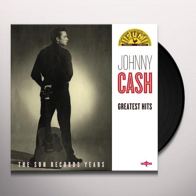 Johnny Cash GREATEST HITS Vinyl Record